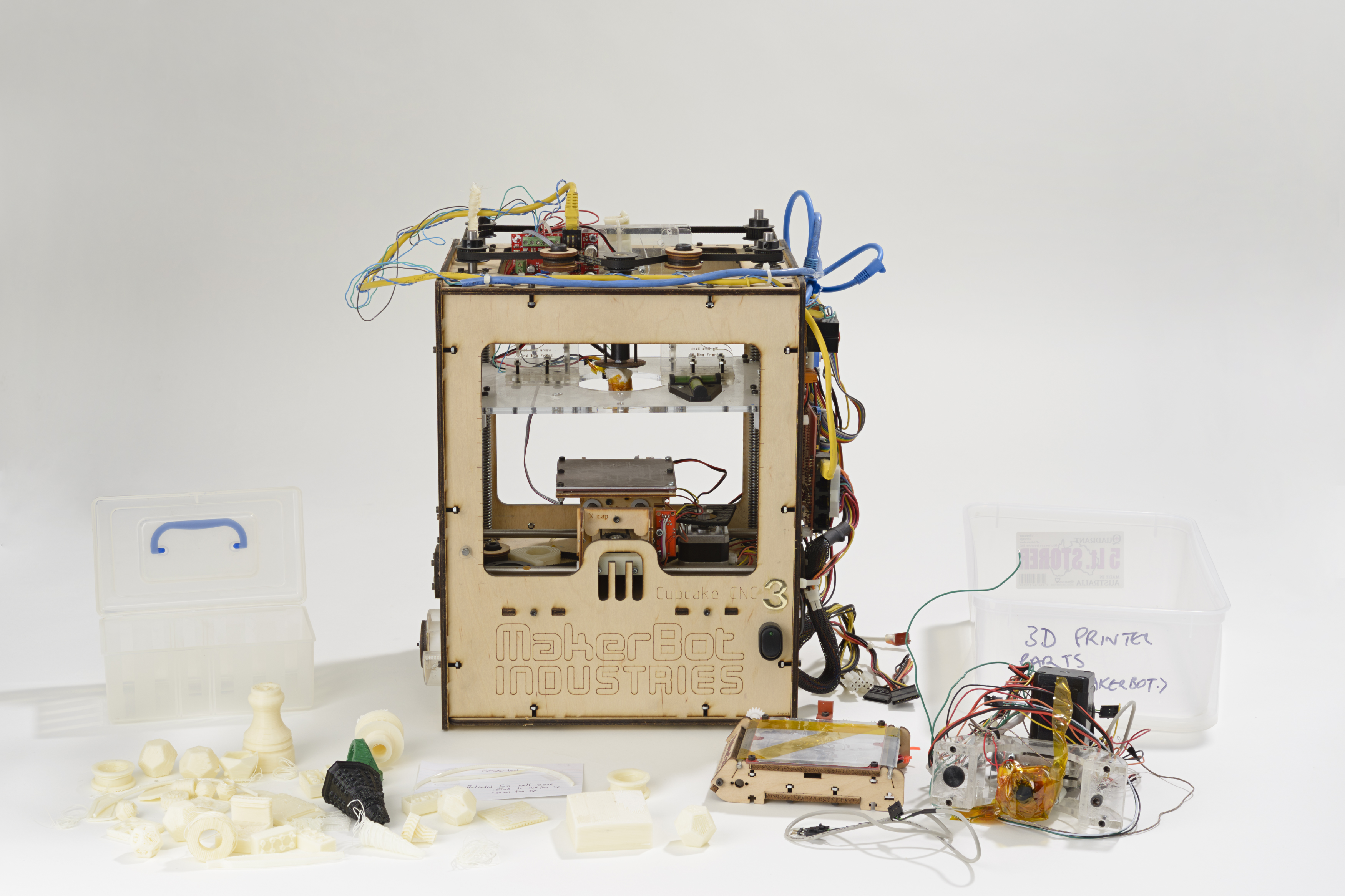 3d Open 3d Printing And The Open Source Movement Inside The Collection