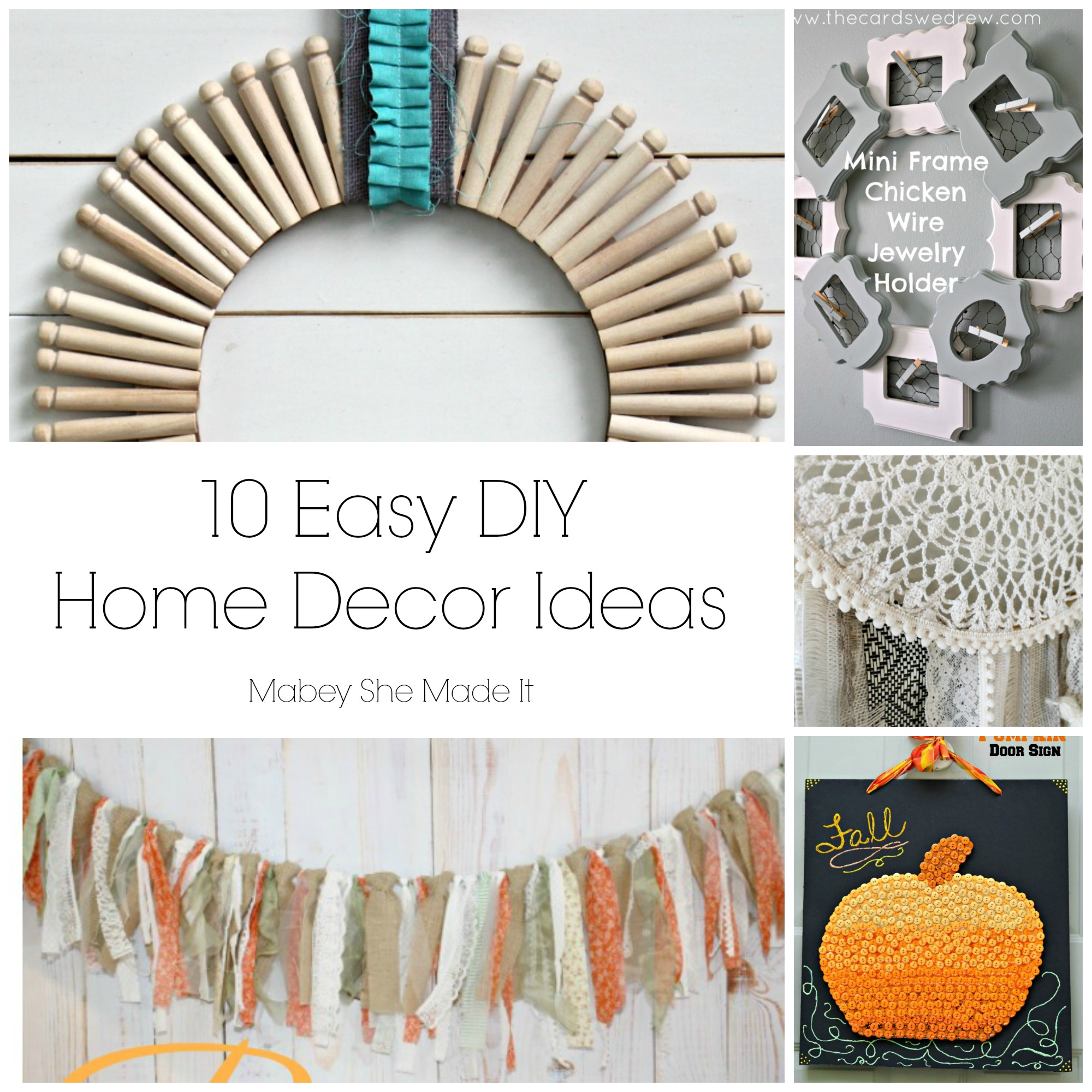 House Decors Ideas 10 Fun Home Decor Ideas Mabey She Made It
