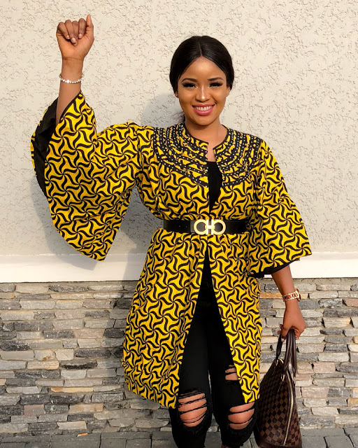Latest Ankara Kimono Styles 2018 : Most Recent African Dresses