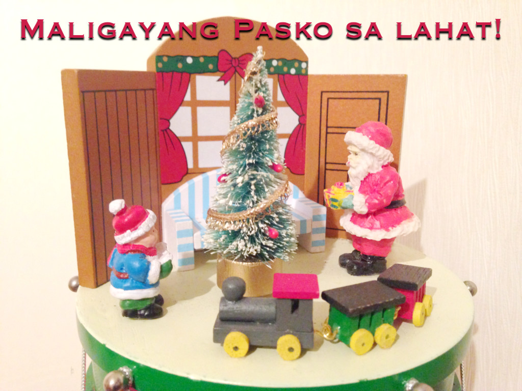 Frohe Weihnachten Tagalog Weihnachtsgruß 2015mabuhay Tisay Mabuhay Tisay