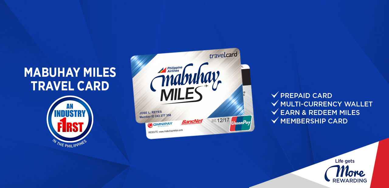 Miles And More Digital Service Card Mabuhay Miles Travel Card