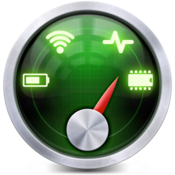StatsBar System Monitor for CPU Memory Disk Space Network Battery icon