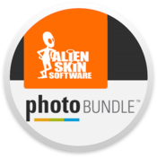 Alien skin software photo bundle rounded logo icon