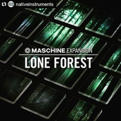 Native instruments maschine expansion lone forest icon