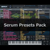 Serum presets pack 1 logo icon