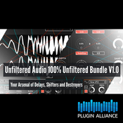 Plugin alliance unfiltered audio 100 bundle v1 0 icon
