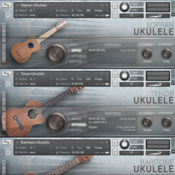 Cinematique instruments ukulele trio icon