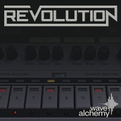 Wave alchemy revolution icon