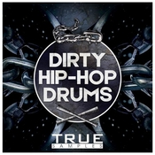 True samples dirty hip hop drums icon