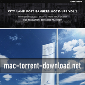 City lamp post banners mock ups vol2 19500986 icon