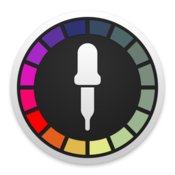 Classic color meter icon