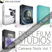 Pixel Film Studios - Camera Tools Vol. 1 for fcpx icon