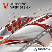 Autodesk vred design 2018 icon