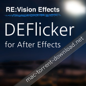 Revisionfx deflicker for after effects icon