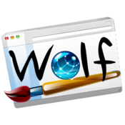 Wolf responsive website designer icon