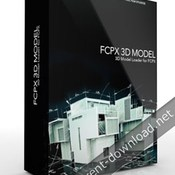 Pixel film studios fcpx3d model 3d model loader for fcpx icon