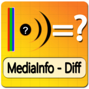 Mediainfo diff easy compare mediainfo data icon