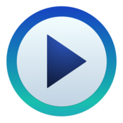 Media player multi format video and audio player icon