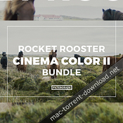 Rocket rooster cinema color ii luts icon