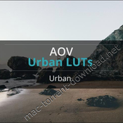 Aov urban video luts pack icon