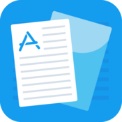 Document writer pdf support icon
