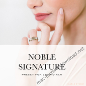 Noble signature luts icon