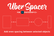 Uberspacer plugin for photoshop icon