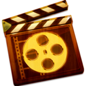 Movie edit video editor video icon