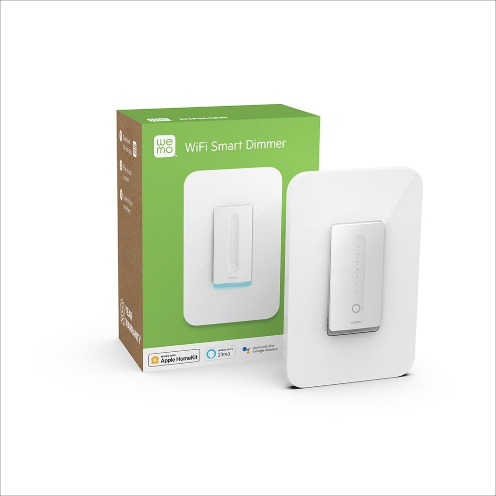 Wlan Dimmer Belkin Introduces Wemo Wifi Smart Dimmer With Home Kit