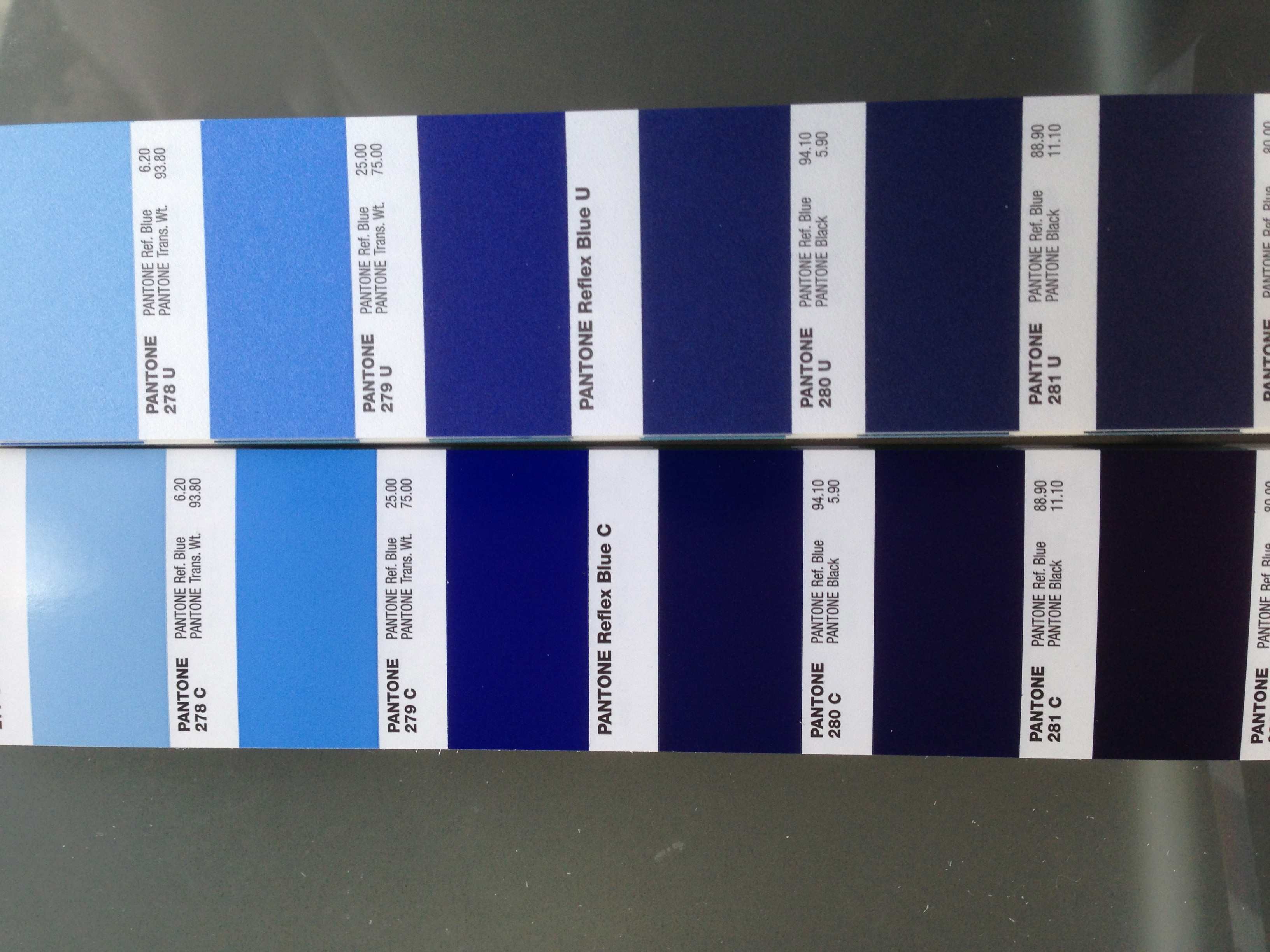 Pantone Hks The Gallery For Gt Pantone 289