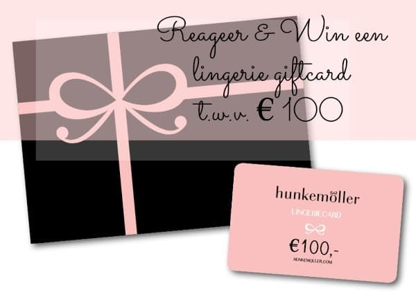 Win een hunkemoller giftcard Sexy comes in all shares