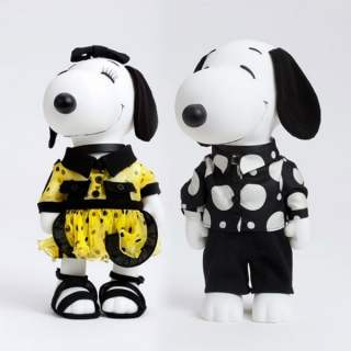 Snoopy & Belle in Fasion in Amsterdam