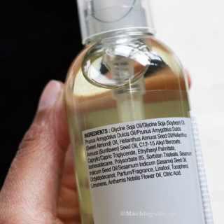 Huidvriendelijke skin care: Camomile Silky Cleansing Oil