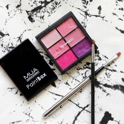 MUA Paint Box Rose Rouge