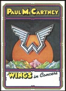 4 WingsInConcertProgramme