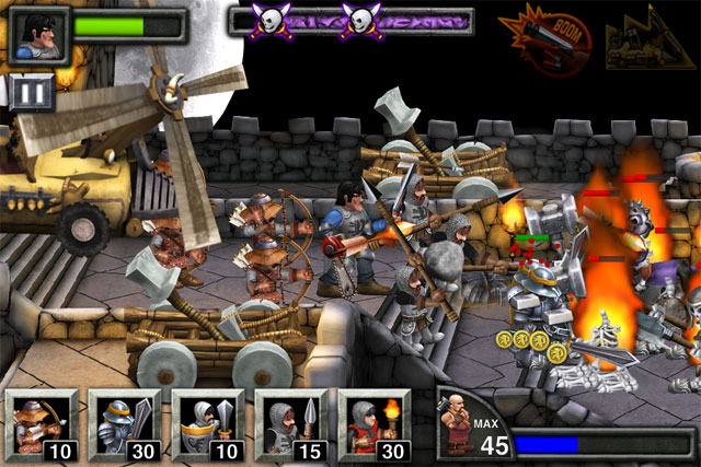 Army of Darkness Tower Defense iPhone and iPad