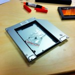 MCE OptiBay Hard Drive SSD MacBook Pro Install 05