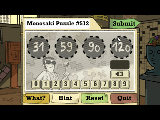 If you can figure out the next number in this sequence, you should do pretty well at Puzzle Agent 2.