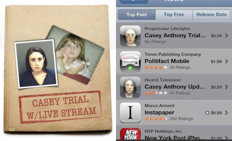 Casey Anthony iPhone App