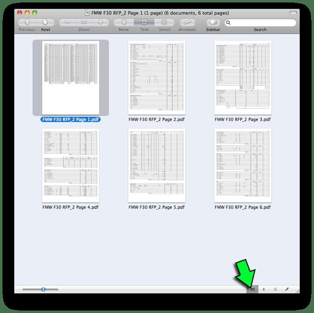 Combine PDFs in Mac OS X 2