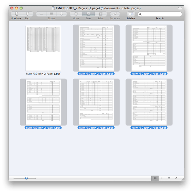 Combine PDFs in Mac OS X 3