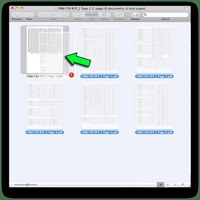 Combine PDFs in Mac OS X 4