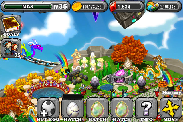 DragonVale Bone Dragon Egg
