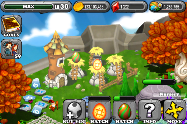 DragonVale SUN Dragon Egg