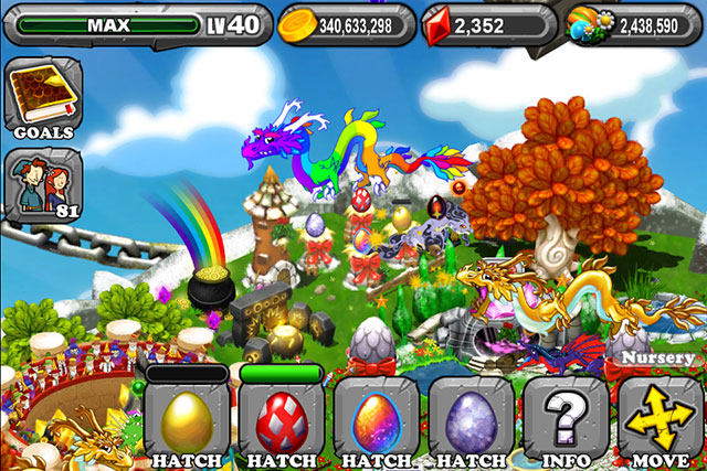 The 1st Egg is the Dragonvale LeapYear Dragon Egg