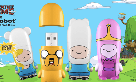 adventure adventure time mimobot flash drive