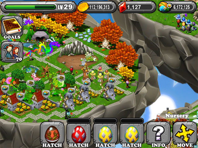 DragonVale OLYMPIC BRONZE Dragon Egg