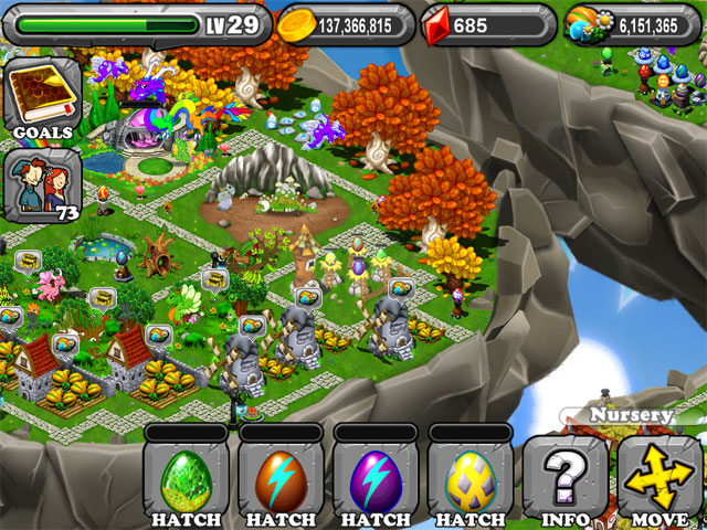 DragonVale PERIDOT Dragon egg