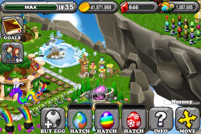 The 1st Egg is the DragonVale Seasonal Dragon Egg
