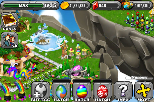 DragonVale Seasonal Dragon Egg